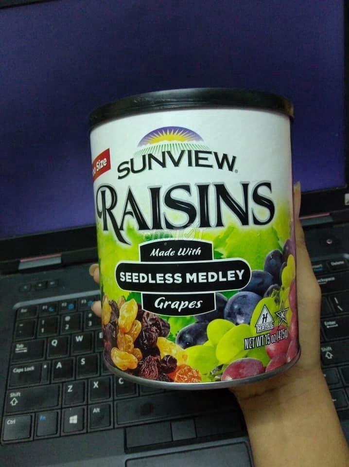 0764248876 - Nho khô Raisins Mỹ
