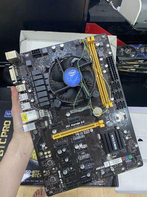 COMBO Mainboard Biostar TB250-BTC Ver6.0 + G3930