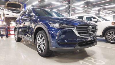 Mazda CX8 2021 đưa trước 300tr
