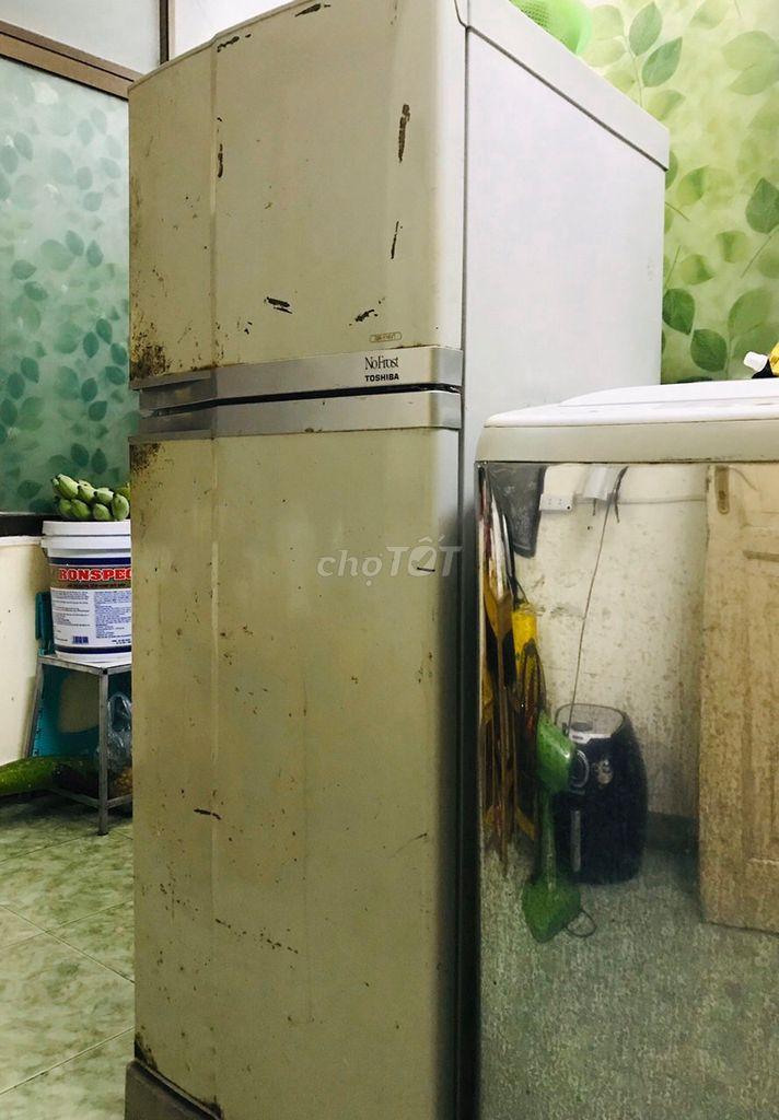 Bán tủ lạnh toshiba 180l