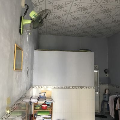 Nhà cấp 4, có 1 phòng ngủ 14 m2, 1 wc