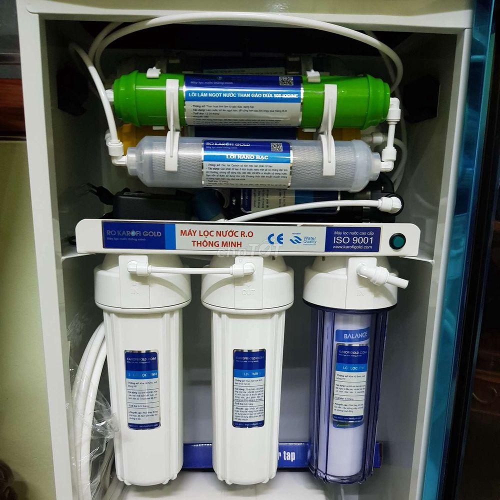 Máy lọc nước karofi 9 cấp