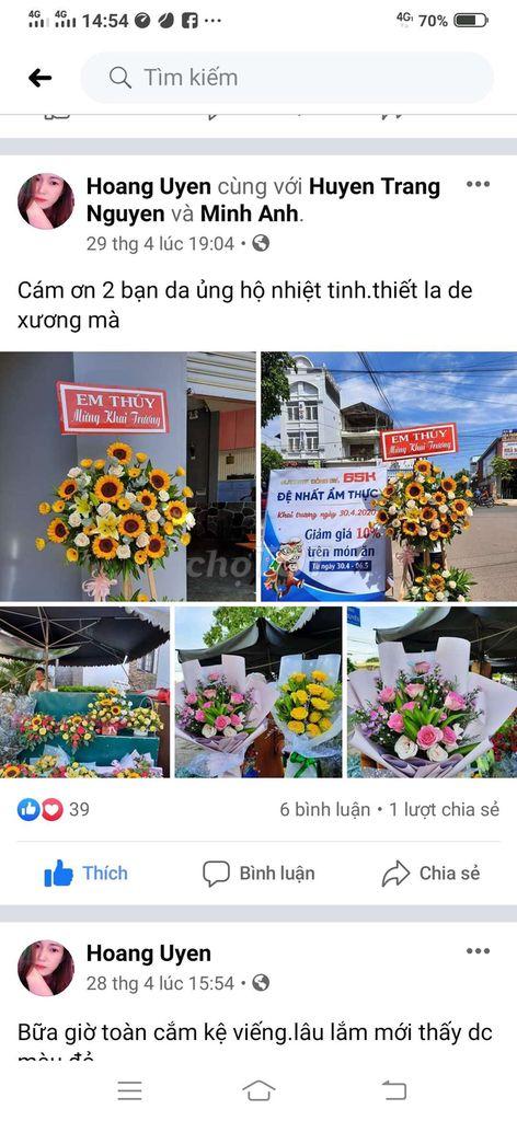 Hoa tươi tú uyên chuyên nhận cắm hoa theo yêu cầu