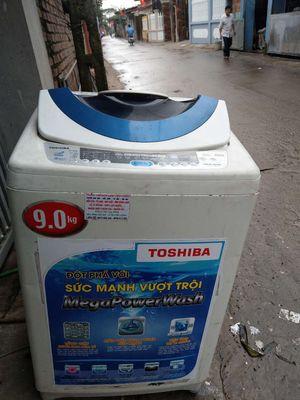Máy giặt toshiba 9kg đẹp nguyên bản