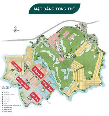 Đất Biệt thự sân Golf 240m2 gần Aqua City, 4,5ty
