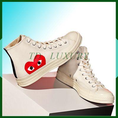 Giày Thể Thao Sneaker CV Play CDG x Chuck Taylor