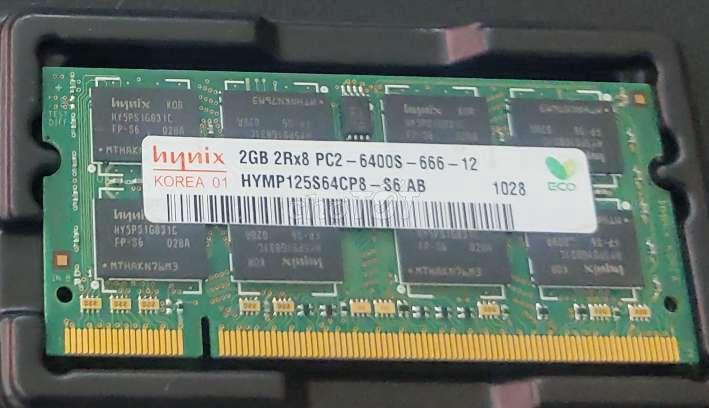 Ram laptop DDR2 2GB nhiều hãng, bus 533 667 800
