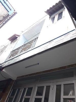 Nhà mới 1trệt 1lầu (3.2m x 6m) hẻm đường ĐT-1.5 HM