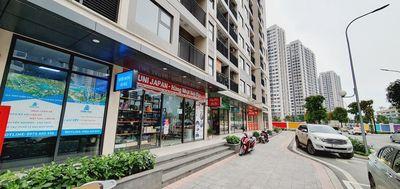 Bán Shop đế 65m gần nhà để xe và sân chơi trẻ em