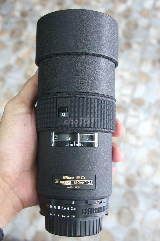 Nikon 180mm F2.8 likenew 99% kèm Filter Giá Rẻ