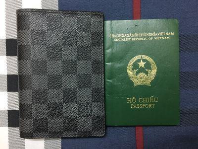 Ví da đựng hộ chiếu