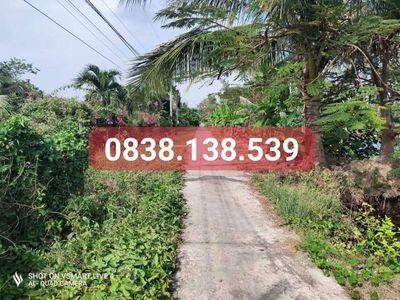 Đất Huyện Thới Bình 1.296m2. Giá Rẻ. Lộ Dự Mở 3m