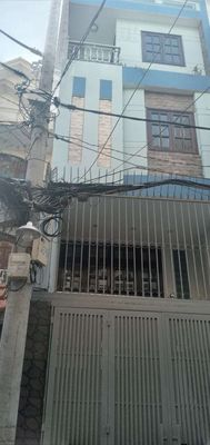 Bán nhà MT đường Nguyễn Cảnh Dị 4.3 x17 Lửng 2 lầu