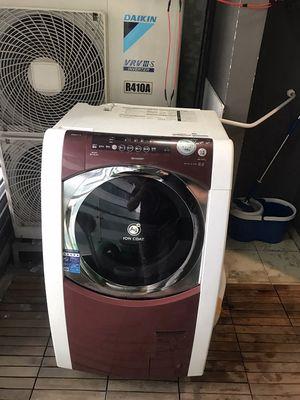 Máy giặt sharp 9kg sấy 6kg sấy điện trở 90% japan
