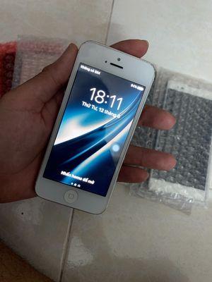 Apple iPhone 5 16 GB bạc quốc tế nguyên zin
