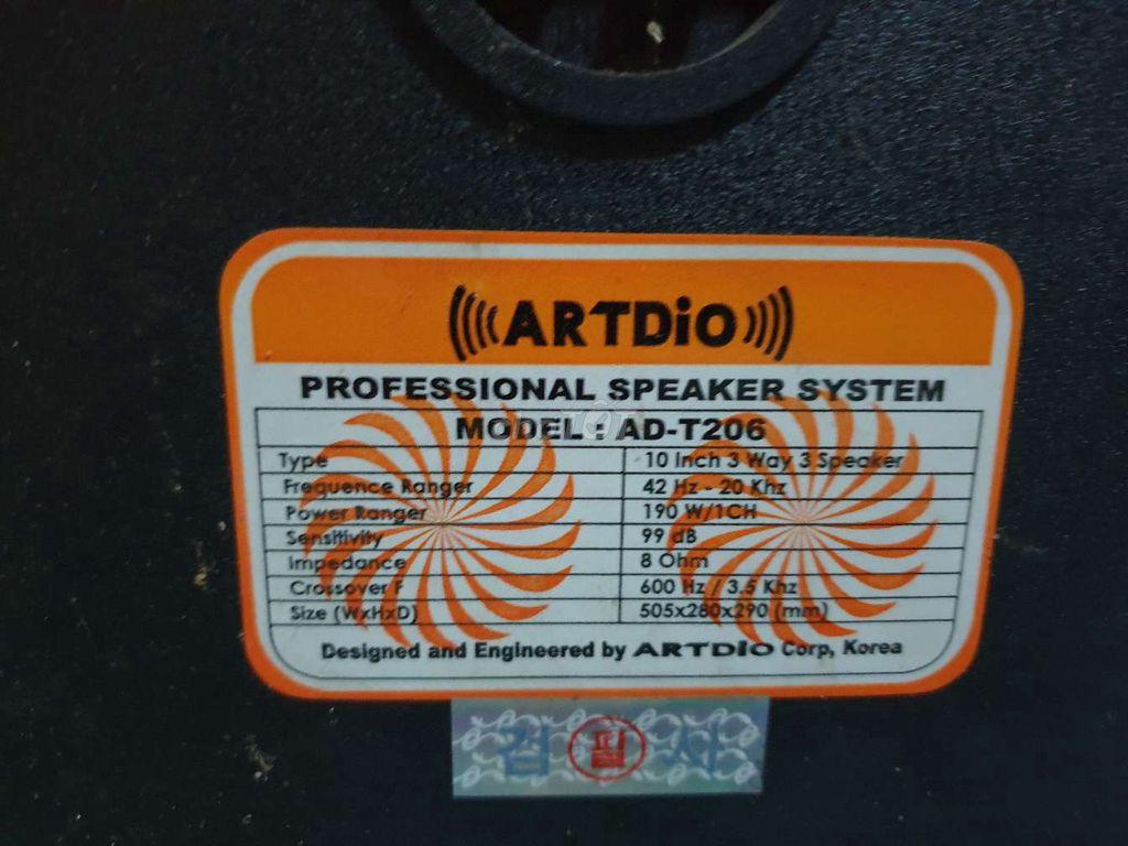 0968533276 - Cần bán cặp loa ARTDIO korea