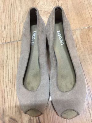 Giày da hiệu LACOSTE