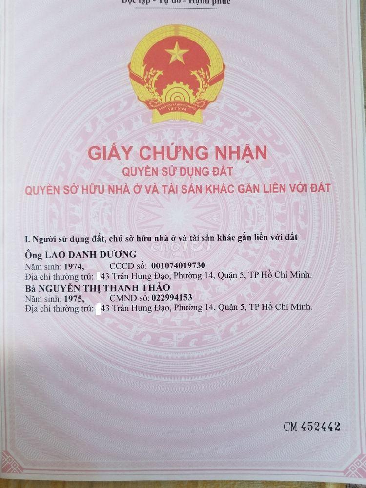 Nhà hẻm 18 đường Trần Quang Diệu, Quận 3