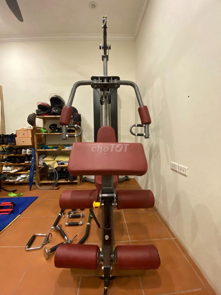 0773388359 - Bán máy tập gym 100kg tạ