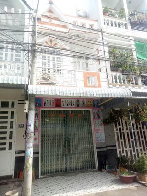 Nhà 1 trệt 1 lầu  đường 21 khu dân cư thới nhựt 1