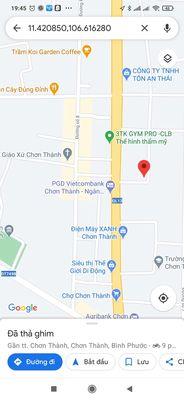 Gần chợ Chơn Thành , ủy ban,nhà cấp 4, giá đầu tư