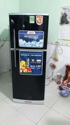 Tủ lạnh sanyo Aqua 230L .còn đẹp