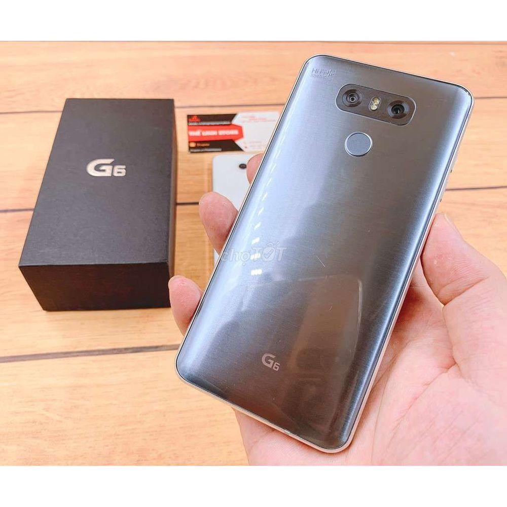 Cần bán LG G6 mới nguyên hộp.