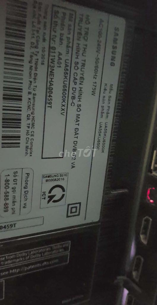 0948241908 - Smart TV samsung 55in wi-fi internet 4K