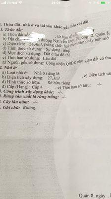 Nhà bán Nguyễn duy .chính chủ bán