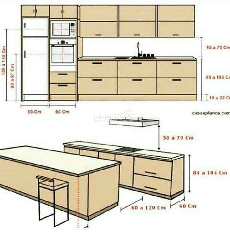 Thiết kế , thi công chuyên nghiệp  hệ tủ bếp