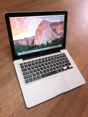 "Macbook Pro 13"" Vỏ nhôm Core I5, Ram 8Gb,Ssd256 Rẻ"