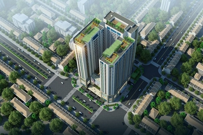 Bán căn chung cư Central Field Trung Kính 68m² 2PN