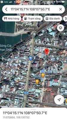 Lô đất ở đô thị ngay trung tâm thị trấn Ma Lâm