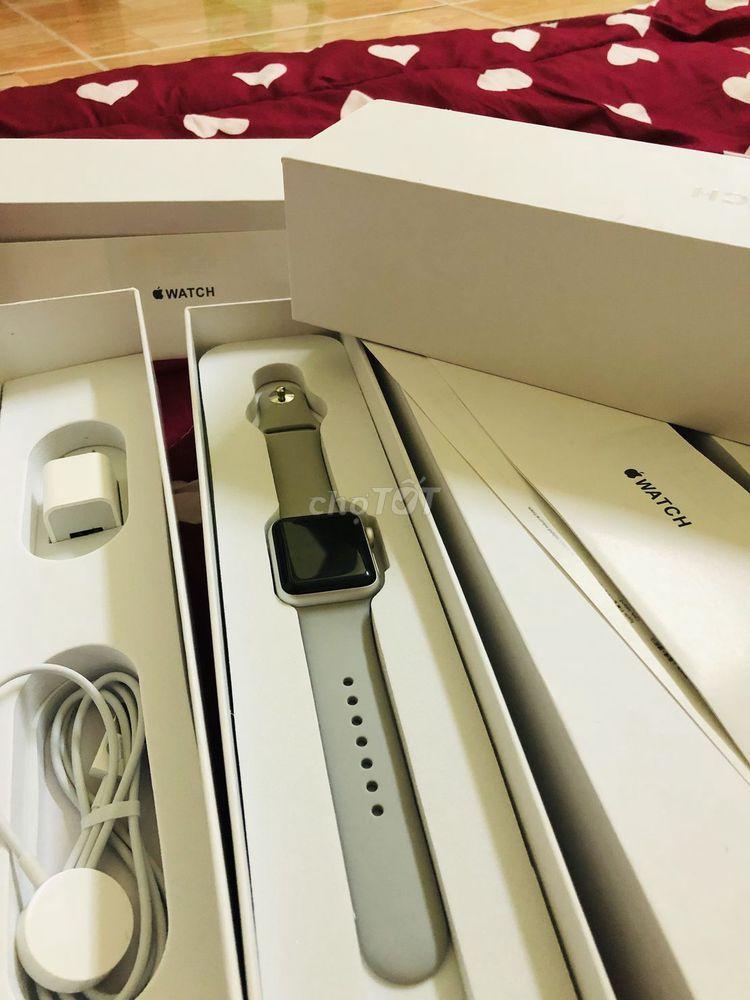 Apple Watch seri 2 nhôm trắng fullbox