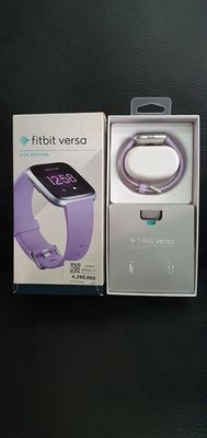 FITBIT Versa Lite Edition màu tím Lilac/ Silver