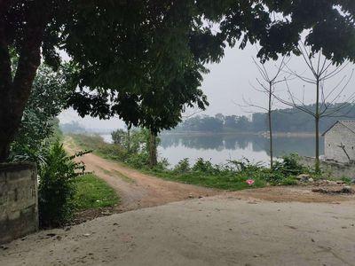Đất Huyện Chương Mỹ 1.400m2 đất view hồ Đồng chan