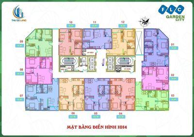 Chung cư Quận Nam Từ Liêm 62m² 2PN