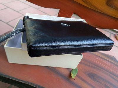 Ví cầm tay da thật, ví đựng iPad, tiền, giấy tờ