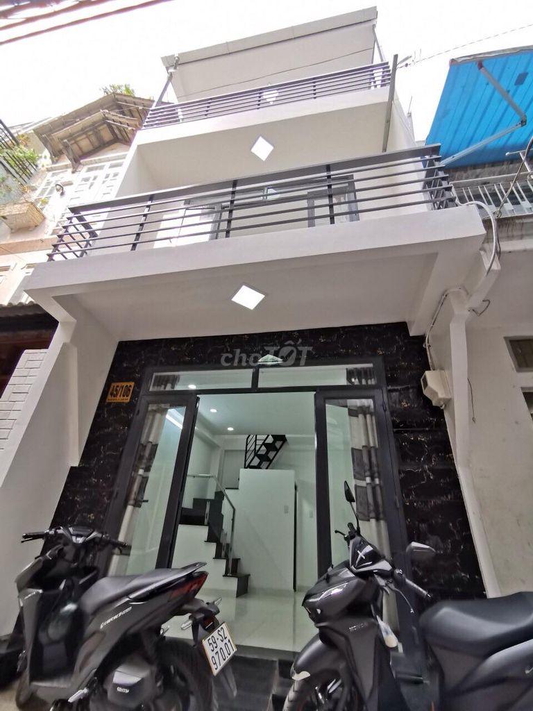 Bán Nhà HXH Nguyễn Văn Đậu P6 BT 40m2/2tỷ890TR.SHR