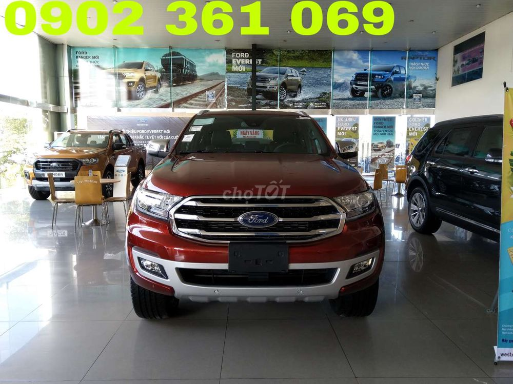 Xe tốt: Ford Everest 2.0l AT 2019 of Thailand