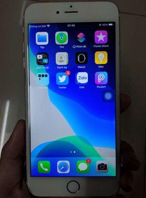 Iphone 6s+ 128gb lock pin 100% giá k fix có gl