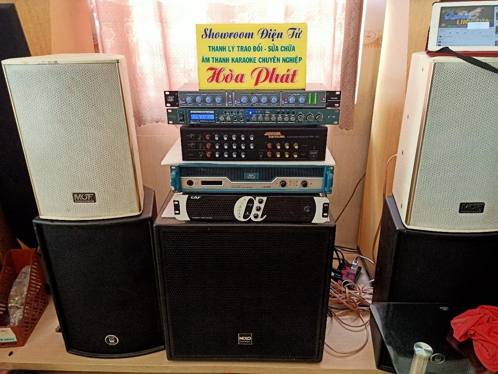 Cửa hàng Showroom âm thanh karaoke chuyên nghiệp