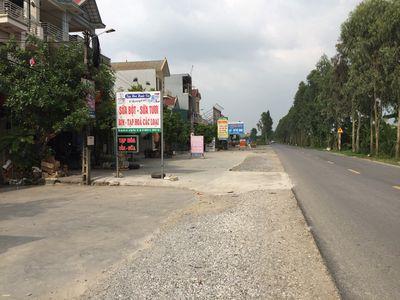 Bán đất phân lô mặt đường 17B