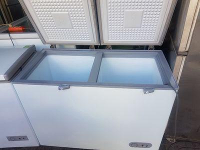 thanh lý tủ đông- mát Sanaky 360L, free ship